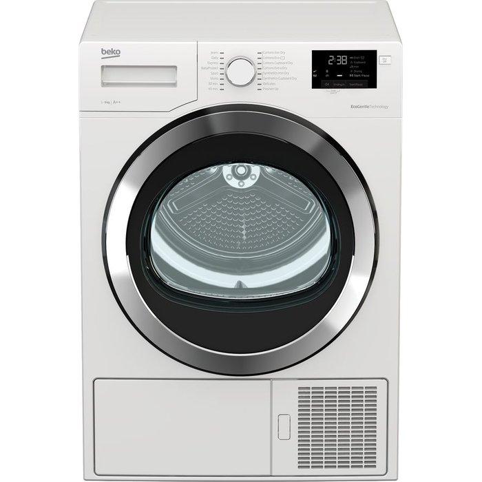 Beko Tumble Dryer DHX93460W 9 kg Heat Pump  - White, White