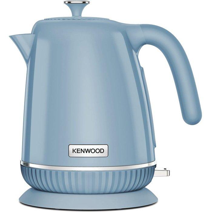 Save 33% - KENWOOD Elegancy ZJP11.A0BG Jug Kettle - Blue, Blue