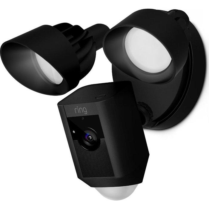 Save £70.00 - RING Floodlight Cam - Black, Black