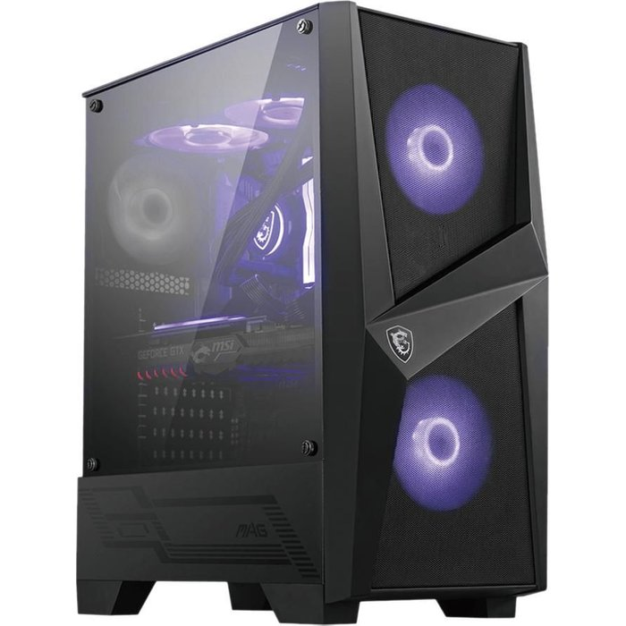 MSI MAG Forge 100M ATX Mid-Tower PC Case