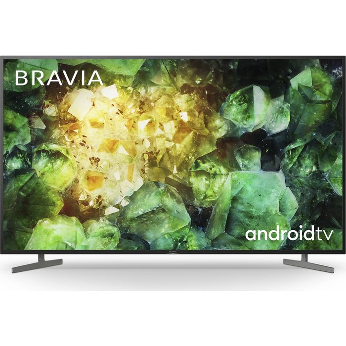 "Save £100.00 - 55"" SONY BRAVIA KD55XH8196BU  Smart 4K Ultra HD HDR LED TV with Google Assistant, Green"