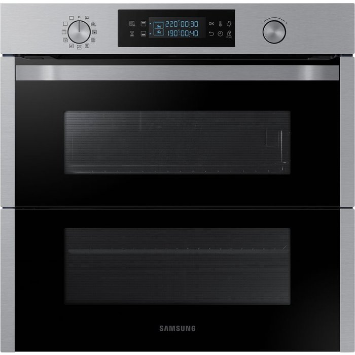 Save £40.00 - SAMSUNG?Dual Cook Flex NV75N5641RS Electric Oven - Stainless Steel, Stainless Steel