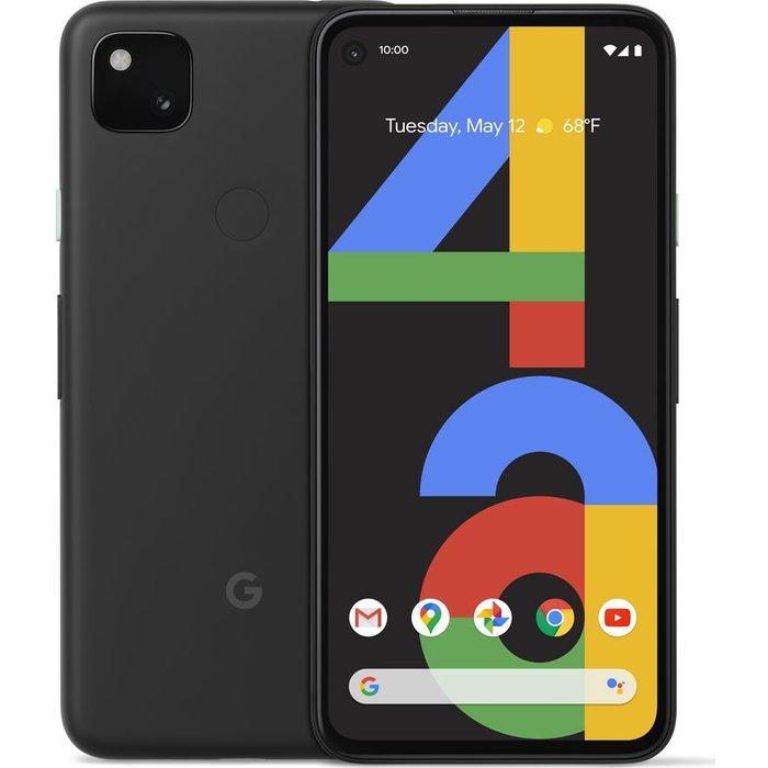 Save £50.00 - GOOGLEPixel 4a - 128 GB, Black