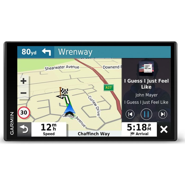 Save £40.00 - GARMIN DriveSmart 65 MT-S 6.9? Sat Nav with Amazon Alexa - Full Europe Maps