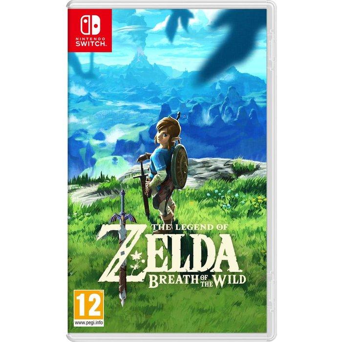 Save £5.00 - NINTENDO SWITCH The Legend of Zelda: Breath of the Wild