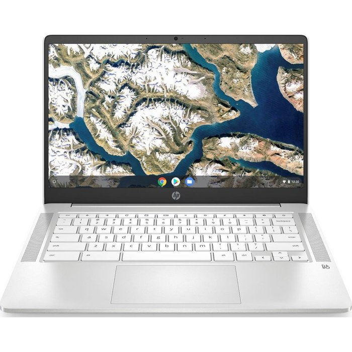 "Save £50.00 - HP 14a 14"" Chromebook - Intelu0026regCeleron, 64 GB eMMC, White, White"