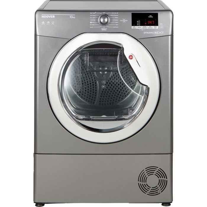 Save £80.00 - HOOVER Dynamic Next DX C10DCER NFC 10 kg Condenser Tumble Dryer - Graphite, Graphite