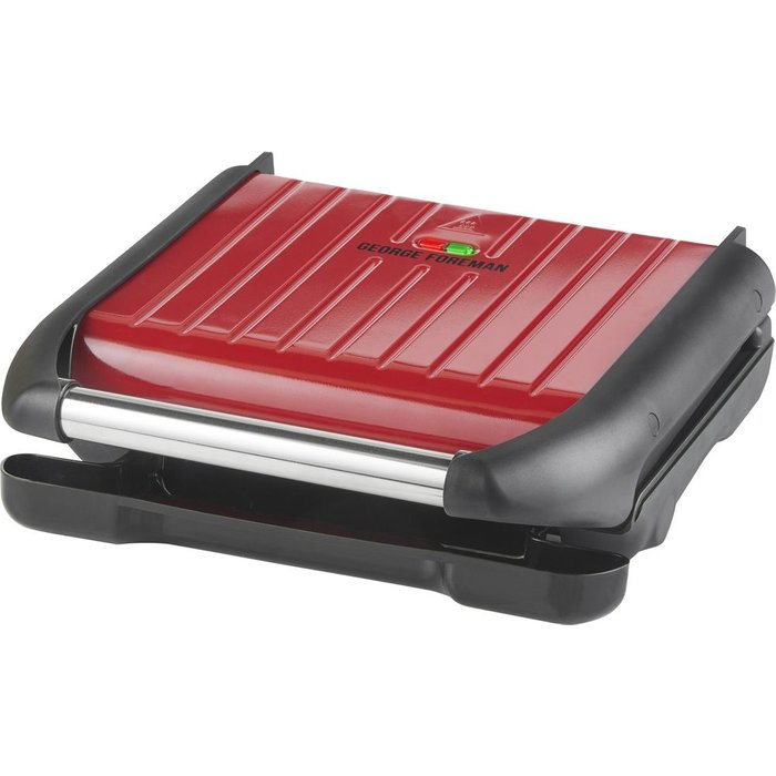 George Foreman George Foreman Medium Red Steel Grill 25040
