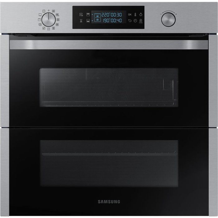 Save £160.00 - SAMSUNG?Dual Cook Flex NV75N5671RS Electric Oven - Stainless Steel, Stainless Steel
