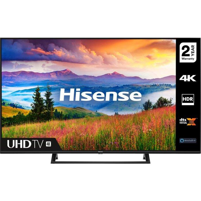"Save £50.00 - 65"" HISENSE 65A7300FTUK  Smart 4K Ultra HD HDR LED TV with Amazon Alexa"