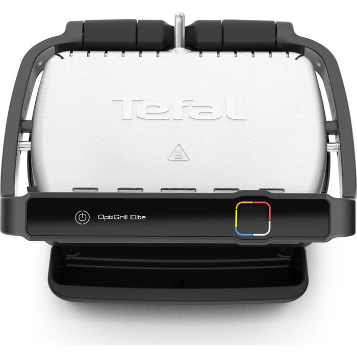 Tefal Tefal OptiGrill Elite GC750D40 Smart Health Grill-5 Portions  2000W, indoor, smarth, 2000 W, Black and Stainless steel