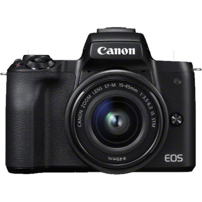 Save £50.00 - Canon EOS M50 Mirrorless Camera with EF-M 15-45 mm f/3.5-5.6 IS STM Lens
