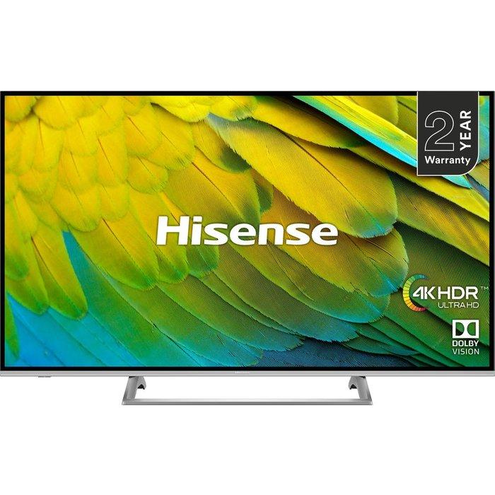 Hisense Hisense H43B7500UK 43-Inch 4K UHD HDR Smart TV with Freeview Play 2019