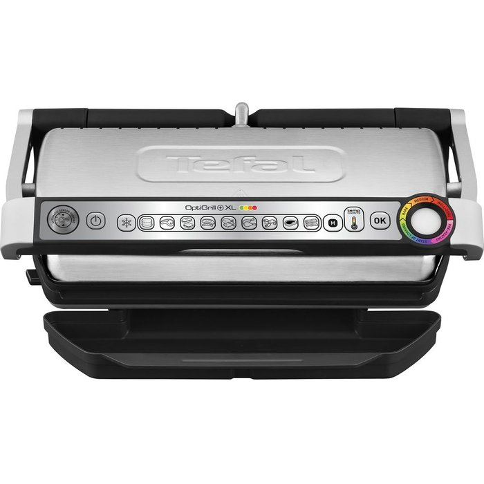 Tefal TEFAL Optigrill XL GC722D40 Grill - Stainless Steel & Black, Stainless Steel