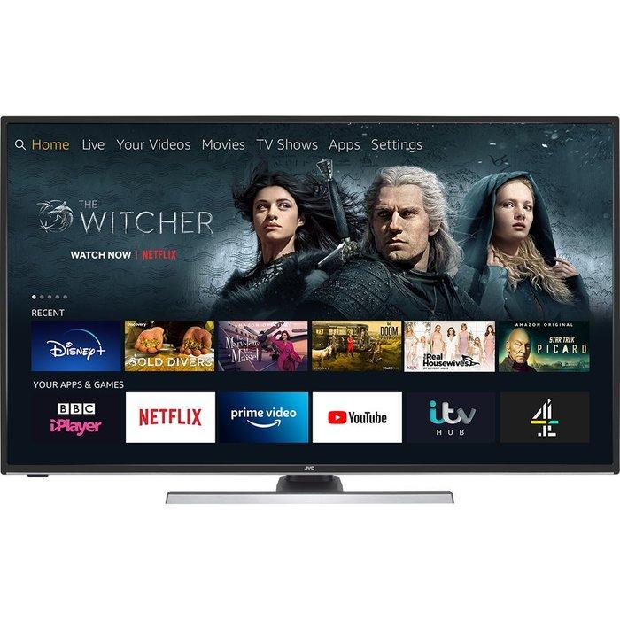 JVC JVC Fire TV Edition 49 Smart 4K Ultra HD HDR LED TV