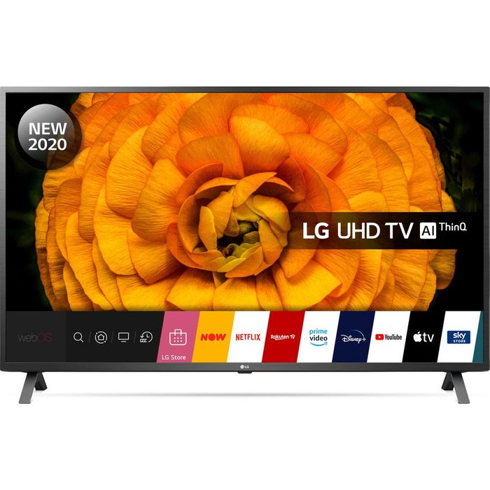 "Save £100.00 - 65""  LG 65UN85006LA  Smart 4K Ultra HD HDR LED TV with Google Assistant & Amazon Alexa"