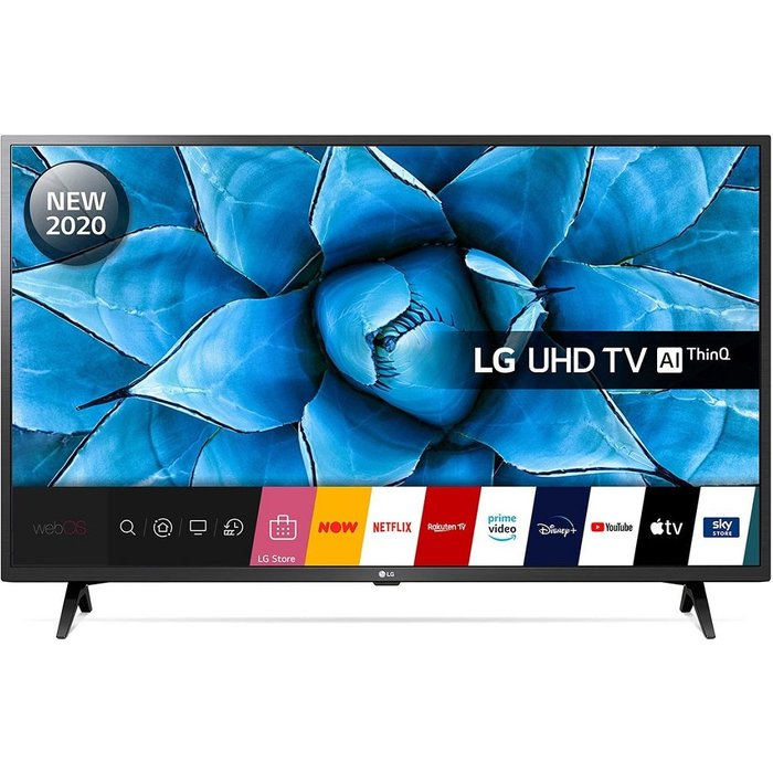 Save £30.00 - LG 43UN73006LC  Smart 4K Ultra HD HDR LED TV with Google Assistant & Amazon Alexa