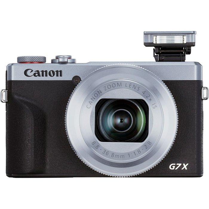 Canon CANON PowerShot G7 X Mark III High Performance Compact Camera - Silver, Silver