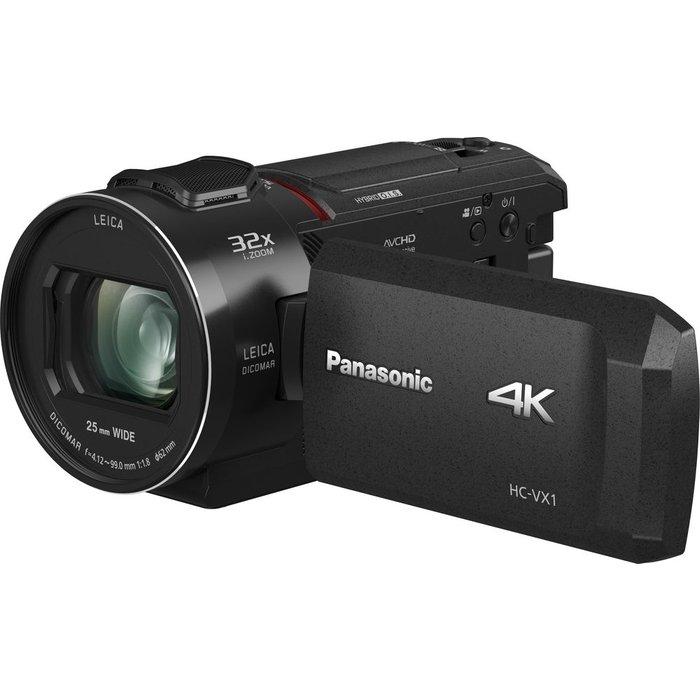 Save £99.03 - PANASONIC HC-VX1EB-K 4K Ultra HD Camcorder - Black, Black