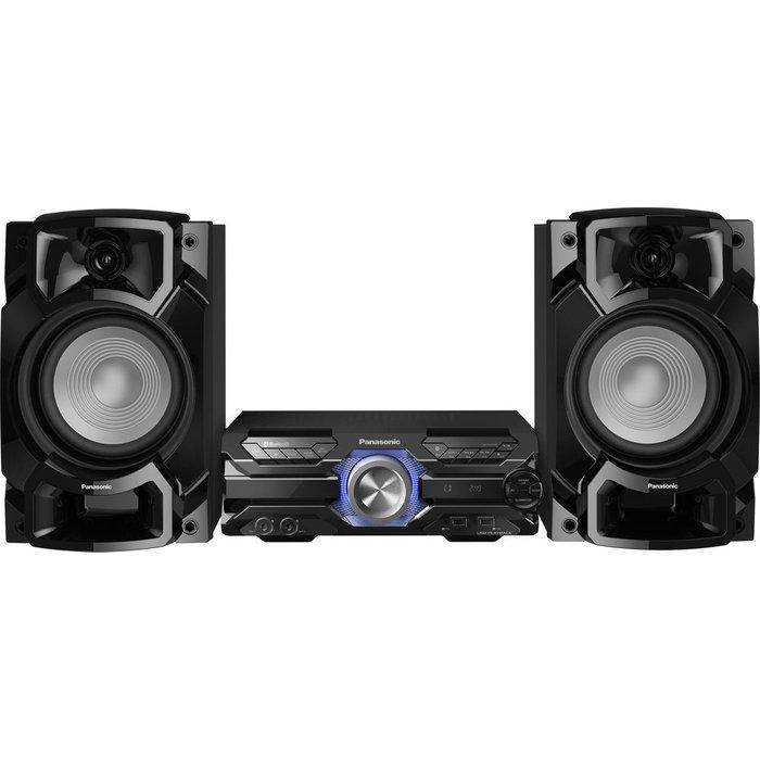 Save £30.00 - PANASONIC SC-AKX520E-K Bluetooth Megasound Party Hi-Fi System - Black, Black