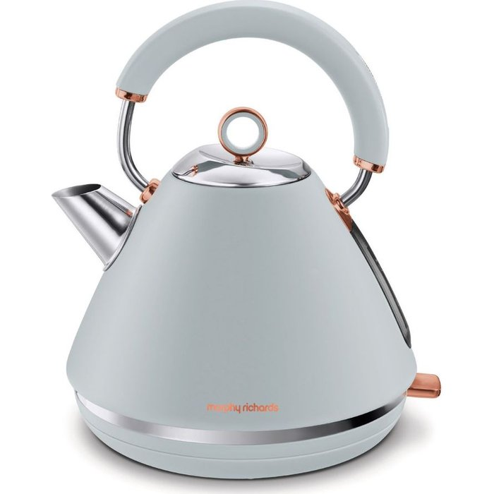 HALF PRICE! Rose Gold Collection 102040 Traditional Kettle - Grey & Rose Gold, Gold