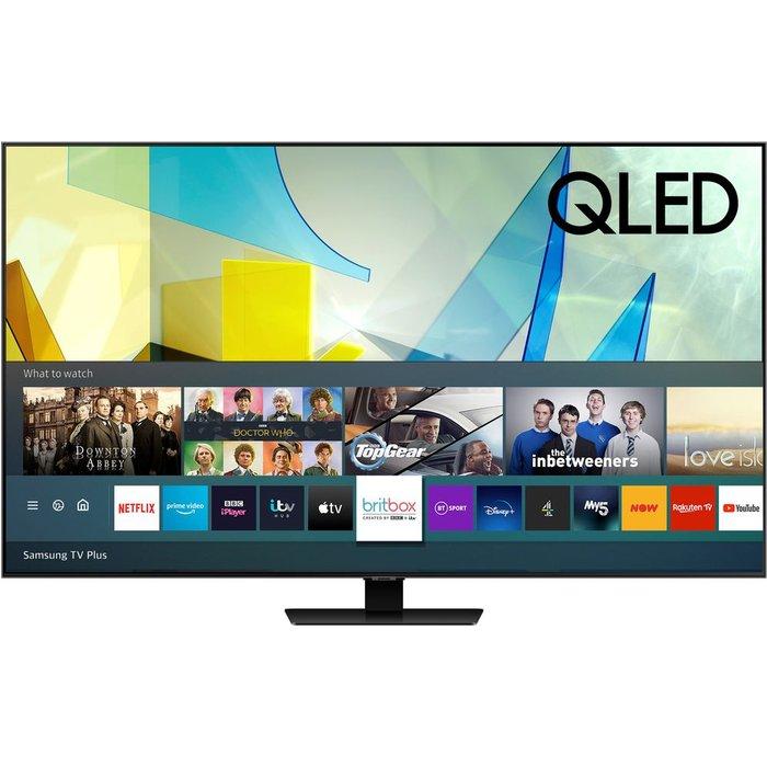 "Save 33% - 65"" SAMSUNG QE65Q85TATXXU  Smart 4K Ultra HD HDR QLED TV with Bixby, Alexa & Google Assistant"