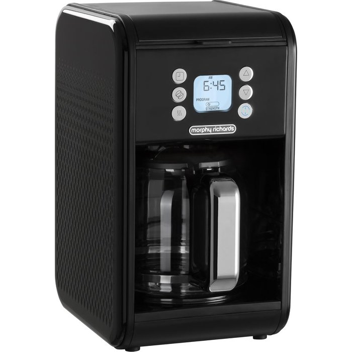 Save £5.99 - MORPHY RICHARDS 163005 Verve Pour Over Filter Coffee Machine - Black, Black