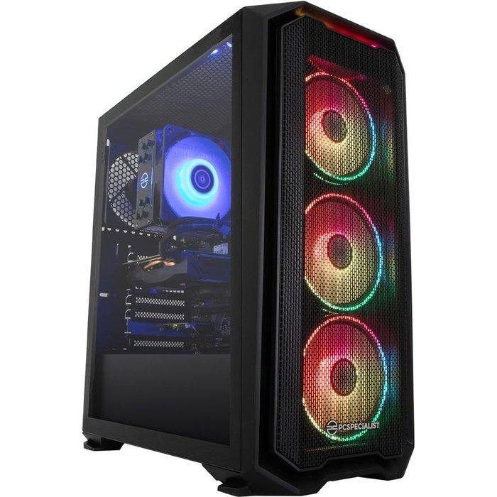 Save £5.00 - PC SPECIALIST Tornado R5X Gaming PC - AMD Ryzen 5, RTX 3060 Ti, 2 TB HDD & 512 GB SSD, Transparent