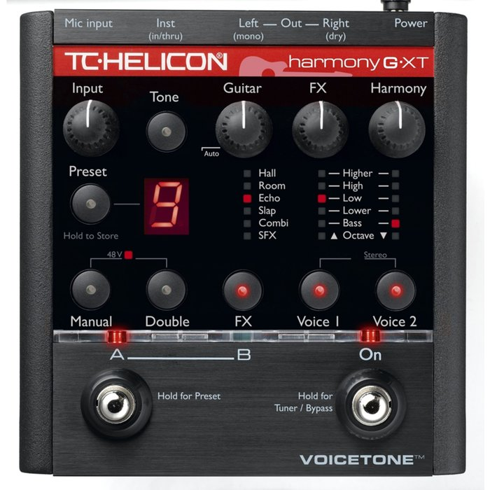 TC-Helicon TC-Helicon VoiceTone Harmony-G XT