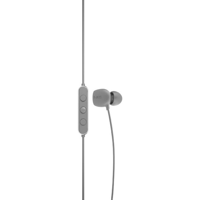 JAYS Bluetooth Headphones Wireless - t-Four - Black - Headphone In-Ear Made for Motion & with Built-in Mic