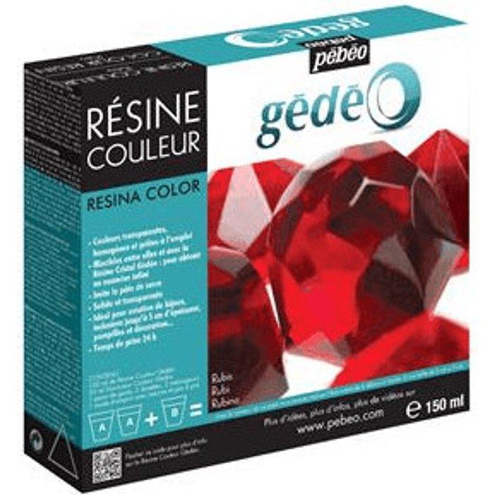 Gedeo Gedeo 150 ml Color Resin, Ruby
