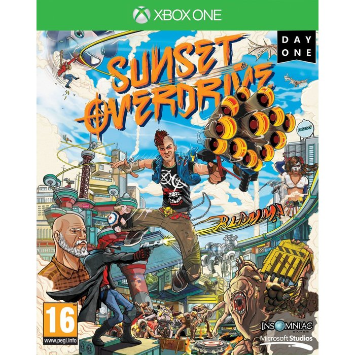 Microsoft Sunset Overdrive: Day One Edition (Xbox One)