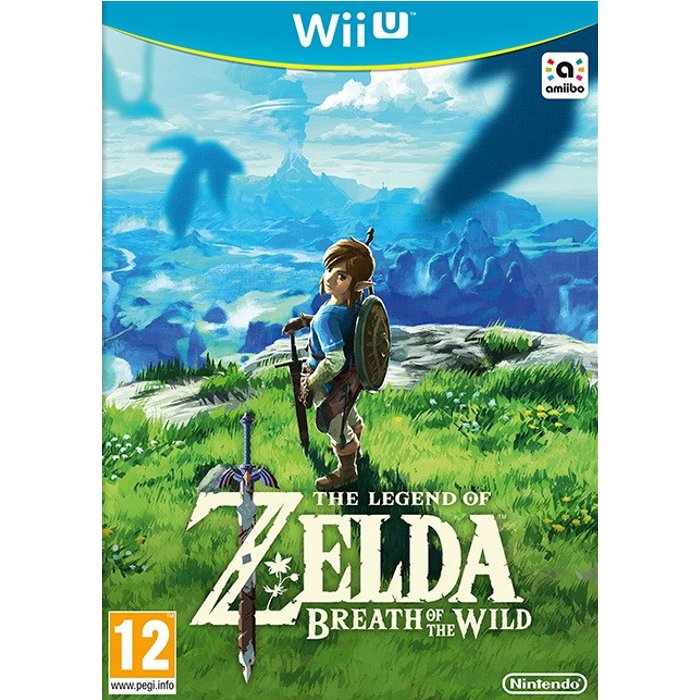 Nintendo The Legend of Zelda: Breath of the Wild Nintendo Wii U