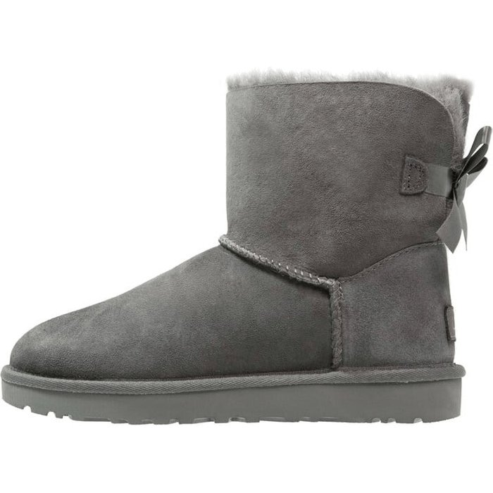 UGG Australia UGG Mini B Bow Ii Che, Womens Snow Boots, Brown Chestnut, 6 UK 39 EU