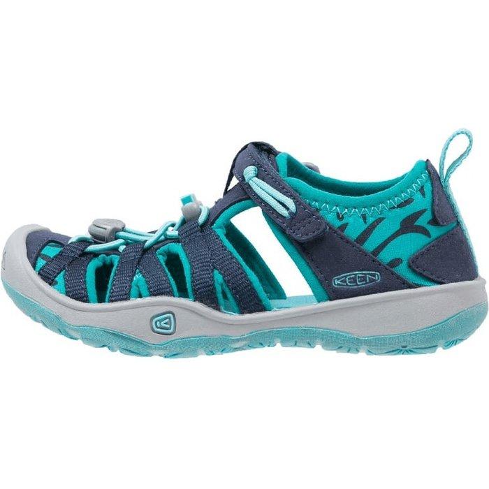 Keen Footwear Keen Moxie Sandal Kids dress blue/viridian