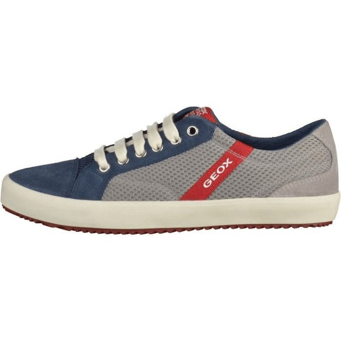 Geox Geox  J ALONISSO BOY  boys's Children's Shoes (Trainers) in Blue. Sizes available:12.5,13.5,14,7.5 toddler,11.5 kid,15.5