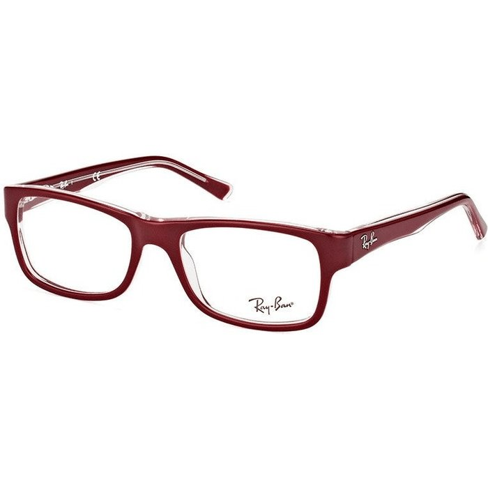 Ray-Ban Ray-Ban RX5268 5738 (top bordeaux on transparent)