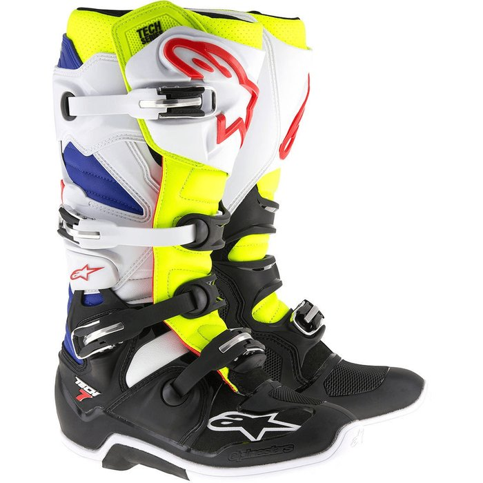 alpinestars Alpinestars Tech 7 Boot black/white/yellow/blue
