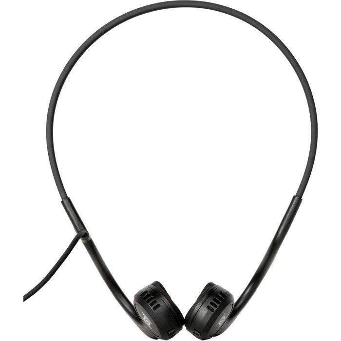 Aftershokz Aftershokz Sportz Titanium Wired Bone Conduction Headphones For Sport Earphone with Mic, Onyx Black