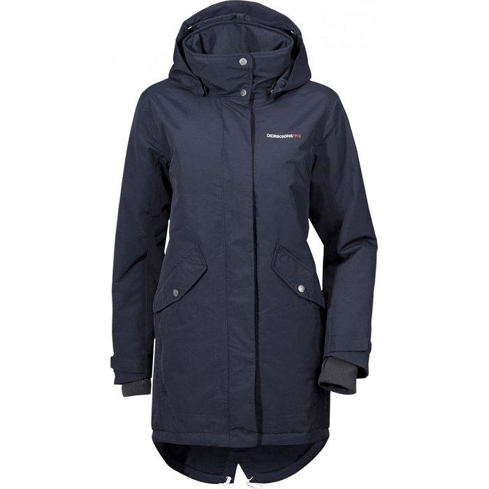 Didriksons Didriksons 1913 Tanja Jacket Women blue Size 36 2018 winter jacket