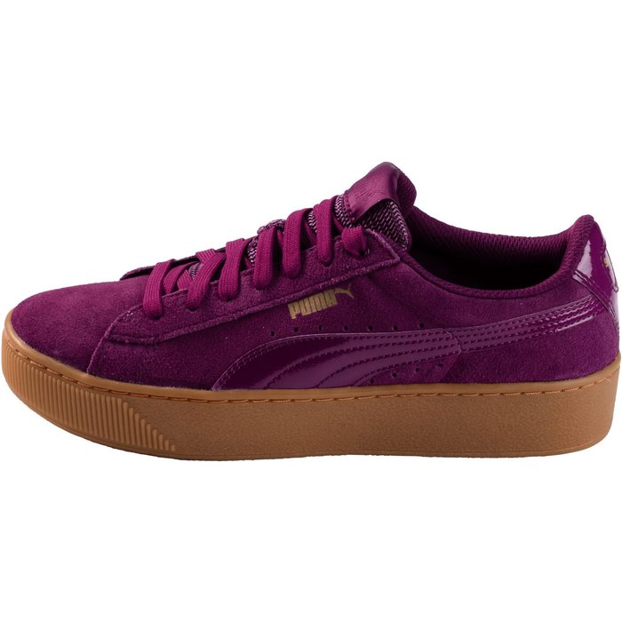 Puma Puma Vikky Platform Patent Wmn dark purple/dark purple