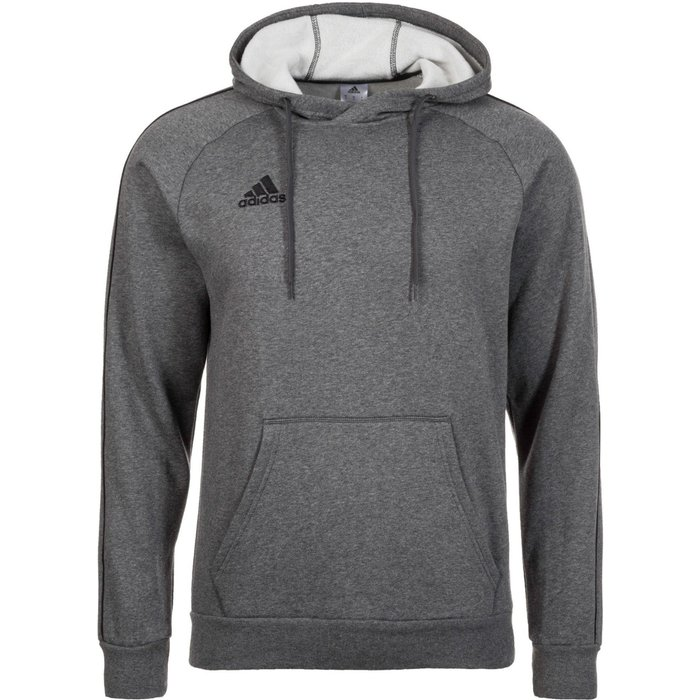 Adidas Adidas Men Hoody Core 18 (CV3327) dark grey heather/black