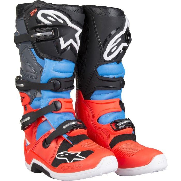 alpinestars Alpinestars Tech 7 Boot red/black/blue