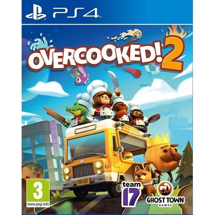 Team 17 Overcooked! 2 (PS4)