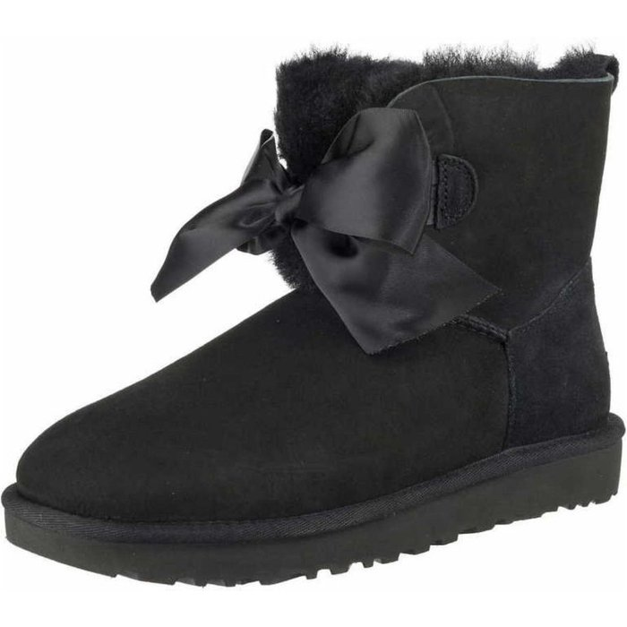 Ugg UGG Gita Bow Mini Boot black