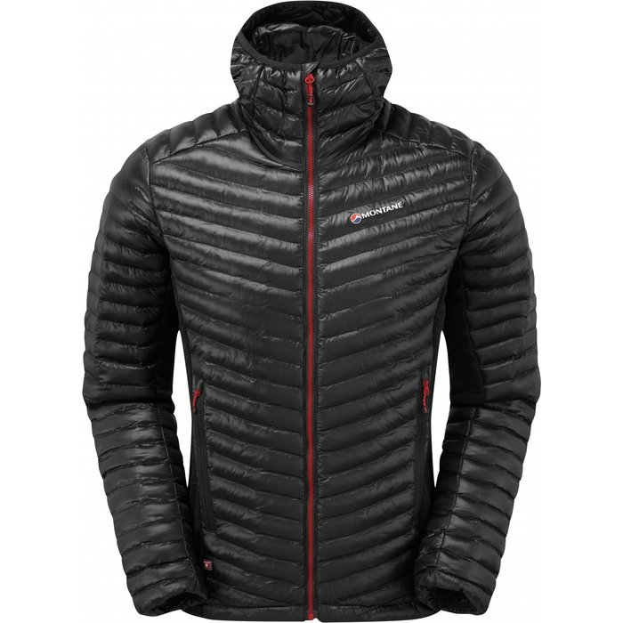 Montane Montane Mens Icarus Flight Jacket - Black Alpine Red