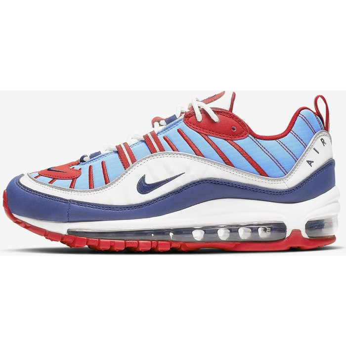 Nike Nike Air Max 98 Women summit white/university red/reflect silver/blue void