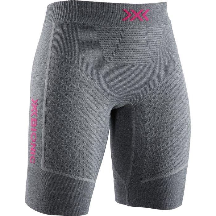 X-Bionic X-Bionic Invent 4.0 Run Speed Shorts Wmn Dolomite Grey Melange/Neon Flamingo
