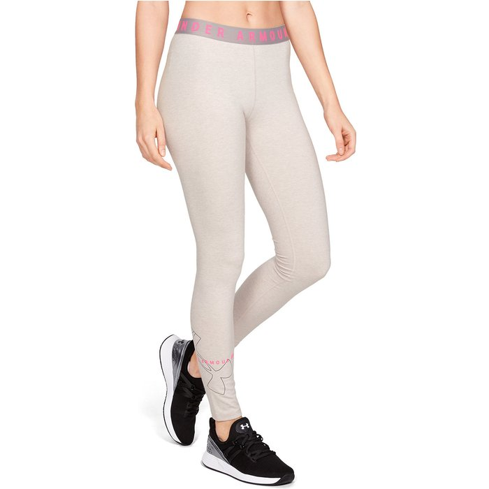 Under Armour Under Armour UA Favorite Tights with Logo (1342638) beige/pink