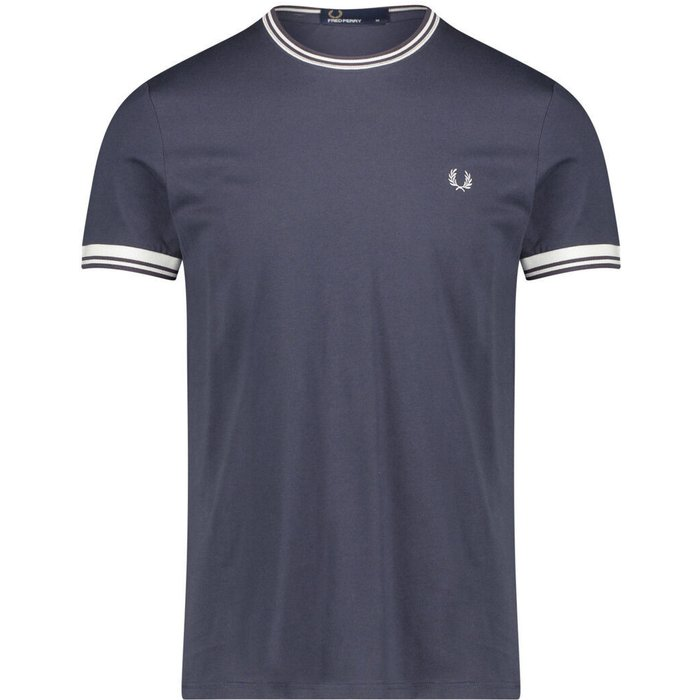 Fred Perry Fred Perry Twin Tipped T-Shirt (M1588) graphite